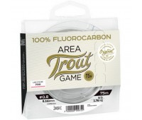 Lucky John Area Trout Game FLUOROCARBON Pink 75м